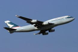 sin747さんが、成田国際空港で撮影したキャセイパシフィック航空 747-467の航空フォト(飛行機 写真・画像)