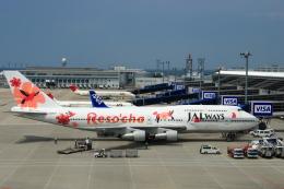 air-kyotoさんが、中部国際空港で撮影したJALウェイズ 747-346の航空フォト(写真)