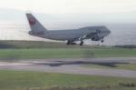 カワPさんが、函館空港で撮影した日本航空 747-346の航空フォト(写真)