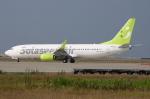 WING_ACEさんが、神戸空港で撮影したソラシド エア 737-86Nの航空フォト(写真)