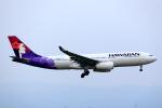 T.Sazenさんが、関西国際空港で撮影したハワイアン航空 A330-243の航空フォト(飛行機 写真・画像)