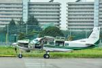 パンダさんが、調布飛行場で撮影した共立航空撮影 208 Caravan Iの航空フォト(写真)