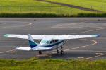 パンダさんが、松本空港で撮影したアイベックスアビエイション TU206G Turbo Stationair 6の航空フォト(写真)