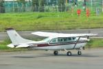 パンダさんが、調布飛行場で撮影した朝日航空 TU206G Turbo Stationair 6の航空フォト(写真)