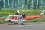 パンダさんが、調布飛行場で撮影した和歌山県防災航空隊 412EPの航空フォト(写真)