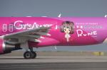 WING_ACEさんが、関西国際空港で撮影したピーチ A320-214の航空フォト(飛行機 写真・画像)