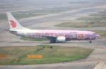 WING_ACEさんが、関西国際空港で撮影した中国国際航空 737-86Nの航空フォト(写真)