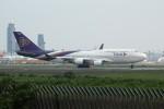 アイスコーヒーさんが、成田国際空港で撮影したタイ国際航空 747-4D7の航空フォト(飛行機 写真・画像)