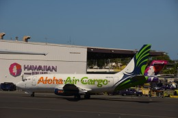 KIXベースのB747さんが、ダニエル・K・イノウエ国際空港で撮影したアロハ・エア・カーゴ 737-290C/Advの航空フォト(飛行機 写真・画像)