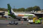 KIXベースのB747さんが、ダニエル・K・イノウエ国際空港で撮影したアロハ・エア・カーゴ 737-282/Adv(F)の航空フォト(写真)
