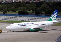 wunalaさんが、シドニー国際空港で撮影したノーフォーク・エア 737-229/Advの航空フォト(飛行機 写真・画像)