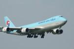 アイスコーヒーさんが、成田国際空港で撮影した大韓航空 747-8HTFの航空フォト(飛行機 写真・画像)