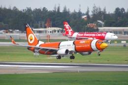 まいけるさんが、ドンムアン空港で撮影したノックエア 737-83Nの航空フォト(飛行機 写真・画像)