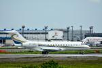 パンダさんが、成田国際空港で撮影したベルジャヤ・エア BD-700-1A11 Global 5000の航空フォト(飛行機 写真・画像)