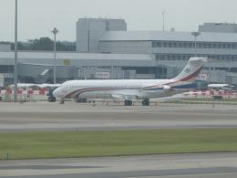 Kanatoさんが、シンガポール・チャンギ国際空港で撮影したスワジランド政府 MD-87 (DC-9-87)の航空フォト(飛行機 写真・画像)