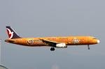 青春の1ページさんが、関西国際空港で撮影したマカオ航空 A321-231の航空フォト(写真)