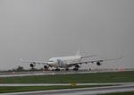 ふじいあきらさんが、広島空港で撮影したハイフライ航空 A340-313Xの航空フォト(写真)