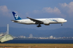 T.Sazenさんが、関西国際空港で撮影したニュージーランド航空 777-219/ERの航空フォト(写真)