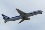 まさとしさんが、下地島空港で撮影した全日空 767-381の航空フォト(写真)