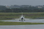 xxxxxzさんが、静岡空港で撮影したフォルクスワーゲン エアサービス Falcon 900Bの航空フォト(飛行機 写真・画像)