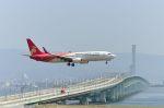 ポン太さんが、関西国際空港で撮影した深圳航空 737-87Lの航空フォト(写真)
