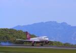 ふじいあきらさんが、広島空港で撮影したフンヌ・エアー A319-112の航空フォト(飛行機 写真・画像)