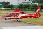 へりさんが、朝日航洋川越メンテナンスセンターで撮影した福岡市消防局消防航空隊 AS365N3 Dauphin 2の航空フォト(写真)