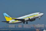 パンダさんが、羽田空港で撮影したAIR DO 737-54Kの航空フォト(写真)