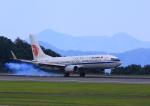 ふじいあきらさんが、広島空港で撮影した中国国際航空 737-89Lの航空フォト(飛行機 写真・画像)