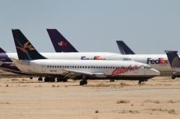 ZONOさんが、サザンカリフォルニアロジステクス空港で撮影したアロハ航空 737-236/Advの航空フォト(飛行機 写真・画像)
