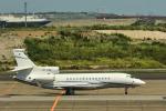 パンダさんが、羽田空港で撮影したフォルクスワーゲン エアサービス Falcon 7Xの航空フォト(写真)