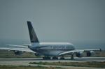 ぺすんさんが、関西国際空港で撮影したシンガポール航空 A380-841の航空フォト(写真)