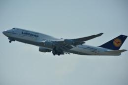 ぺすんさんが、関西国際空港で撮影したルフトハンザドイツ航空 747-430の航空フォト(飛行機 写真・画像)