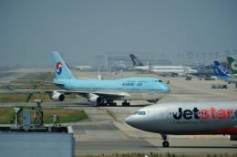 ぺすんさんが、関西国際空港で撮影した大韓航空 747-4B5の航空フォト(飛行機 写真・画像)