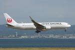 WING_ACEさんが、関西国際空港で撮影した日本航空 767-346/ERの航空フォト(飛行機 写真・画像)
