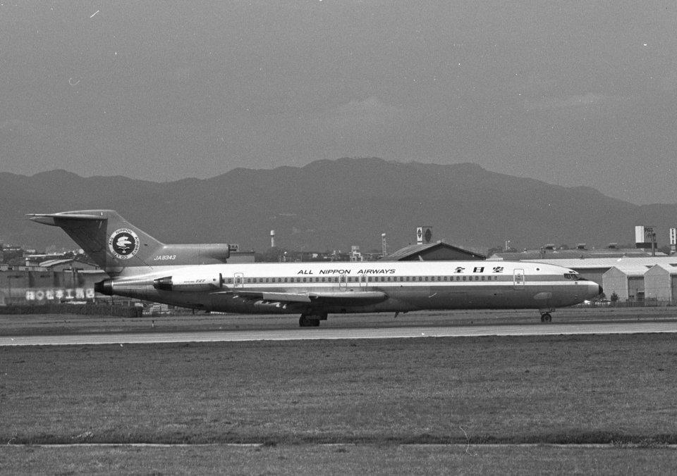 チャーリーマイクさんの全日空 Boeing 727-200 (JA8343) 航空フォト