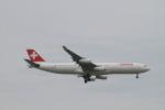 matsuさんが、シンガポール・チャンギ国際空港で撮影したスイスインターナショナルエアラインズ A340-313Xの航空フォト(写真)