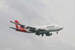 matsuさんが、シンガポール・チャンギ国際空港で撮影したカンタス航空 747-438の航空フォト(飛行機 写真・画像)