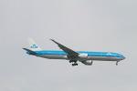 matsuさんが、シンガポール・チャンギ国際空港で撮影したKLMオランダ航空 777-306/ERの航空フォト(写真)