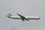 matsuさんが、シンガポール・チャンギ国際空港で撮影したキャセイパシフィック航空 777-367の航空フォト(写真)
