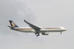matsuさんが、シンガポール・チャンギ国際空港で撮影したシンガポール航空 A330-343Xの航空フォト(飛行機 写真・画像)