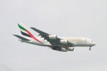 matsuさんが、シンガポール・チャンギ国際空港で撮影したエミレーツ航空 A380-861の航空フォト(写真)