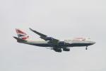 matsuさんが、シンガポール・チャンギ国際空港で撮影したブリティッシュ・エアウェイズ 747-436の航空フォト(写真)