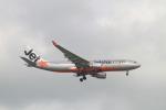 matsuさんが、シンガポール・チャンギ国際空港で撮影したジェットスター A330-202の航空フォト(飛行機 写真・画像)