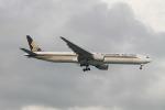 matsuさんが、シンガポール・チャンギ国際空港で撮影したシンガポール航空 777-312の航空フォト(飛行機 写真・画像)