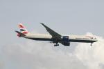 matsuさんが、シンガポール・チャンギ国際空港で撮影したブリティッシュ・エアウェイズ 777-36N/ERの航空フォト(写真)