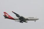 matsuさんが、シンガポール・チャンギ国際空港で撮影したカンタス航空 747-438/ERの航空フォト(飛行機 写真・画像)