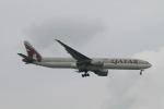 matsuさんが、シンガポール・チャンギ国際空港で撮影したカタール航空 777-3DZ/ERの航空フォト(写真)