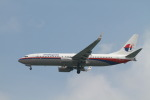 matsuさんが、シンガポール・チャンギ国際空港で撮影したマレーシア航空 737-86Nの航空フォト(飛行機 写真・画像)