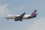 matsuさんが、シンガポール・チャンギ国際空港で撮影したカルディグ エア 737-347(SF)の航空フォト(飛行機 写真・画像)